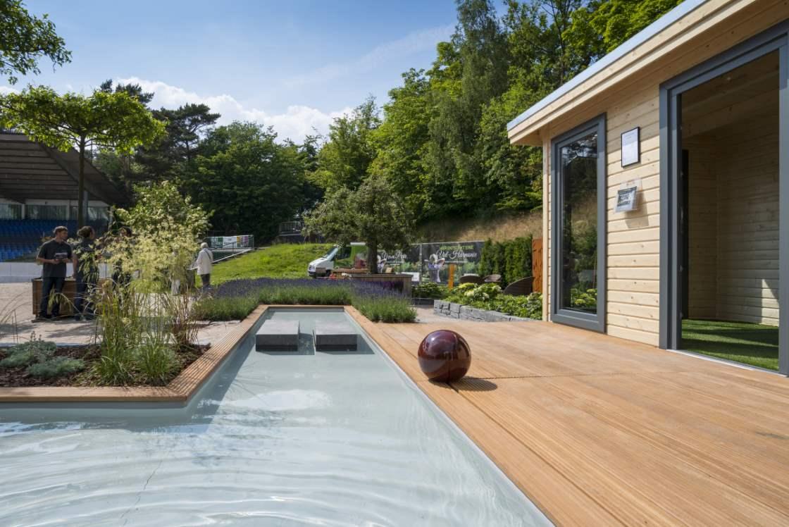Moderne Gartenarchitektur und ihre Merkmale