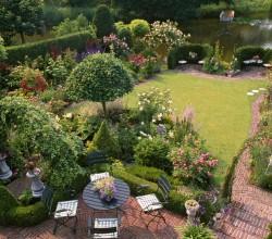 Garten im englischen Stil
